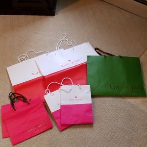 kate spade shopping bags!